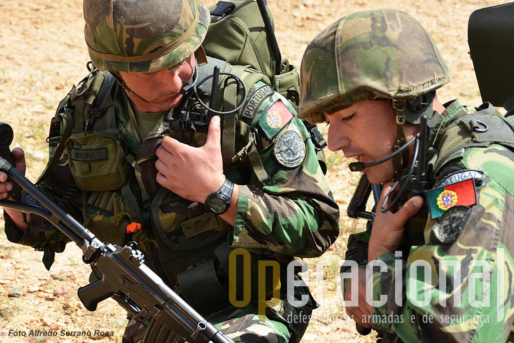 Comunicações, componente fundamental de qualquer actividade operacional.