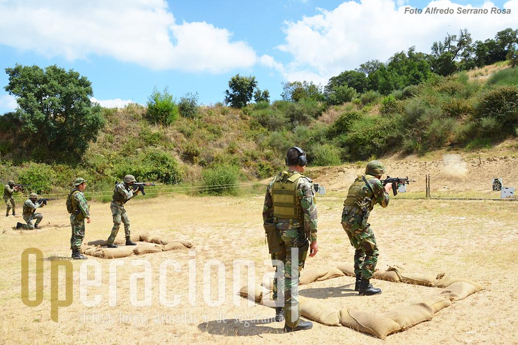 Com o aproximar do empenhamento internacional, o treino de tiro, em várias modalidades, tem que ser acautelado.