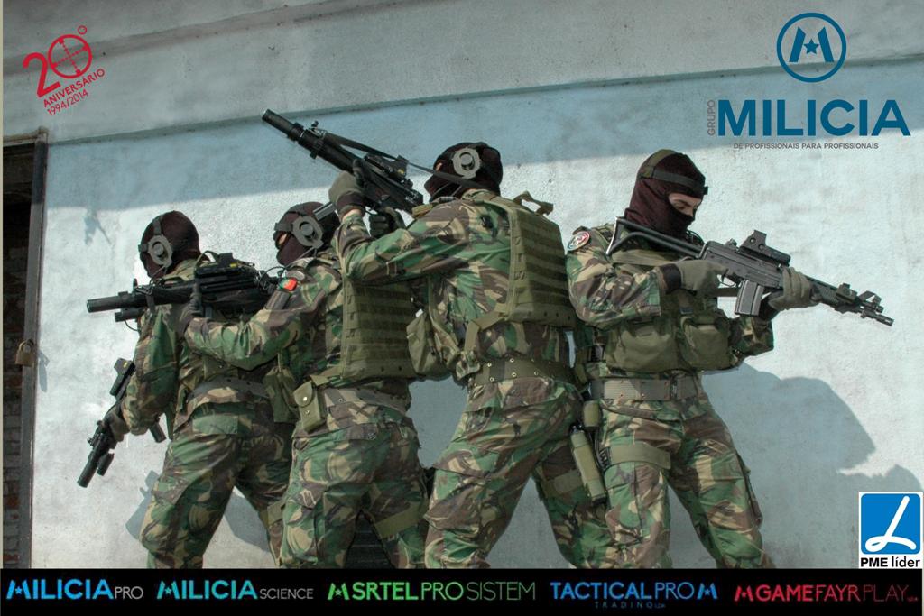 Por ocasião do 20,º aniversário o Grupo Milícia renovou a sua imagem e introduziu novos logotipos e letring