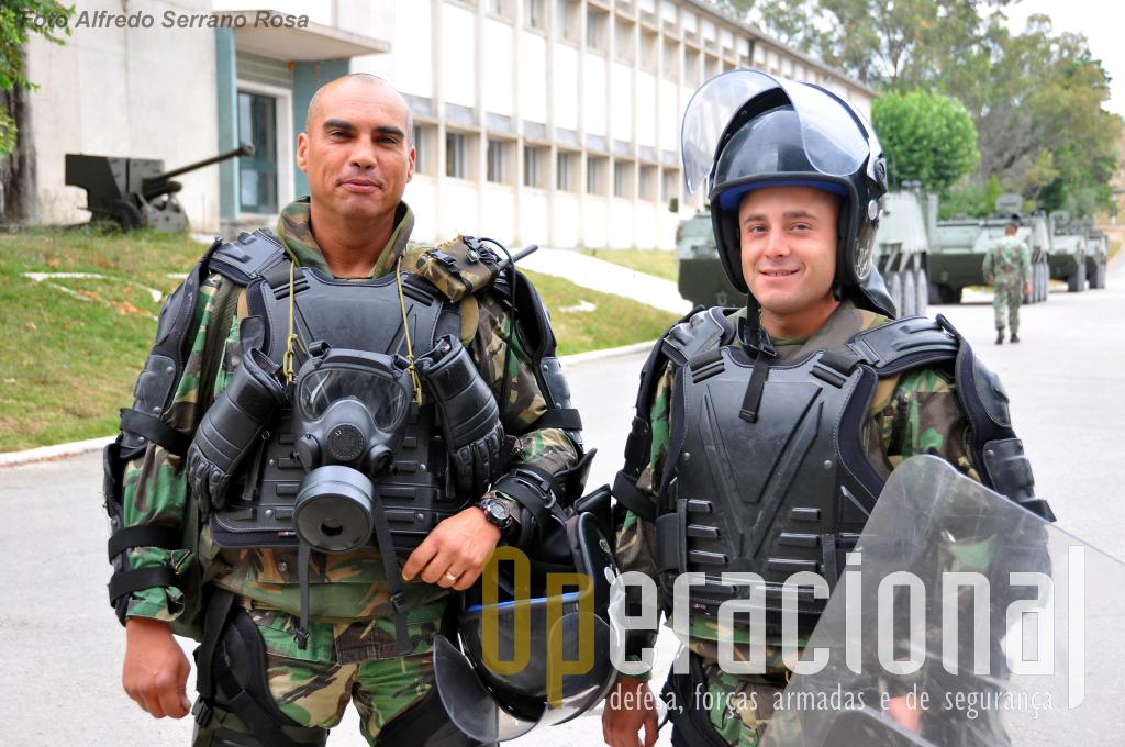 Não é a única mas uma das missões do batalhão português no Kosovo é o controlo de tumultos, situação