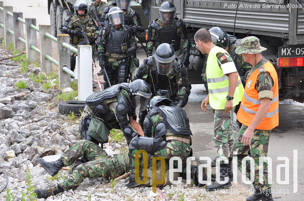 Algumas detenções têm de ser feitas, mas não é tarefa fácil.