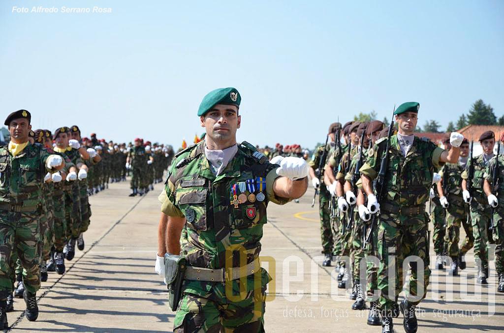 Militares colocados na Unidade de Aviação Ligeira do Exército que organicamente continua a ser parte da BrigRR.