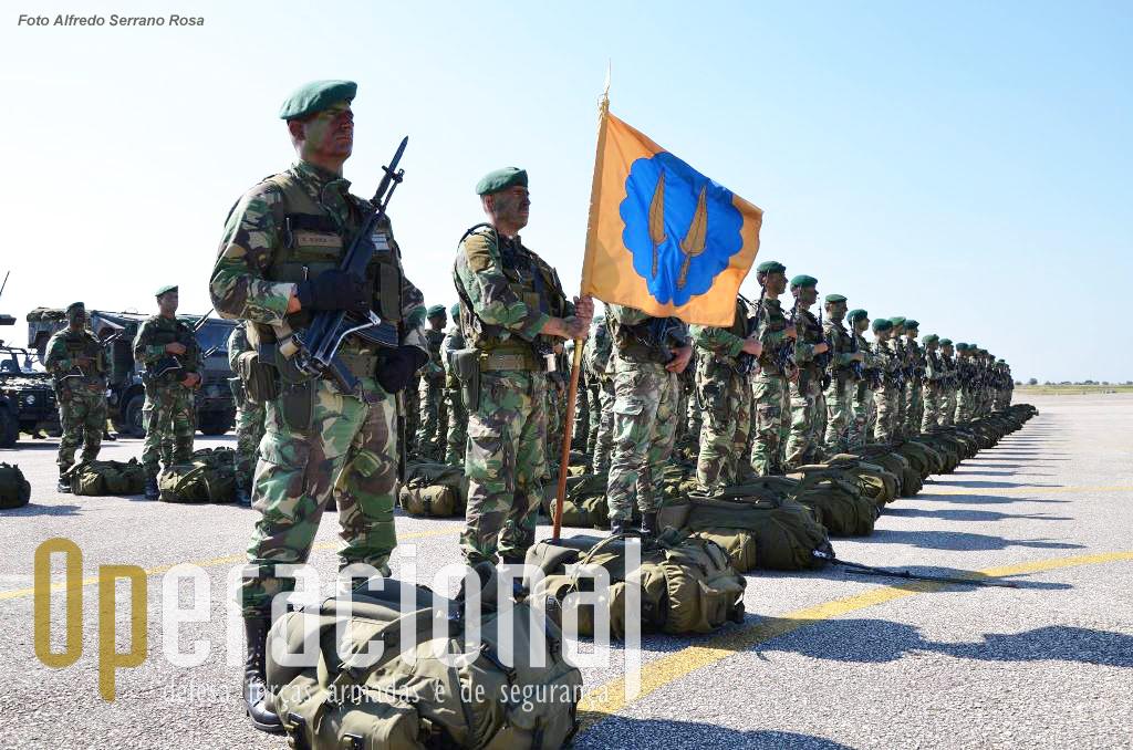 2.º Batalhão de Infantaria Pára-quedista, que se encontra aquartelado na Área Militar de S. Jacinto (Aveiro)