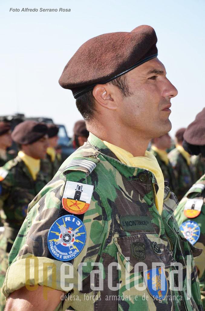 """O Regimento de Infantaria n.º 3, Beja, """"sentinela do Baixo-Alentejo"""", também integra a BrigRR."""