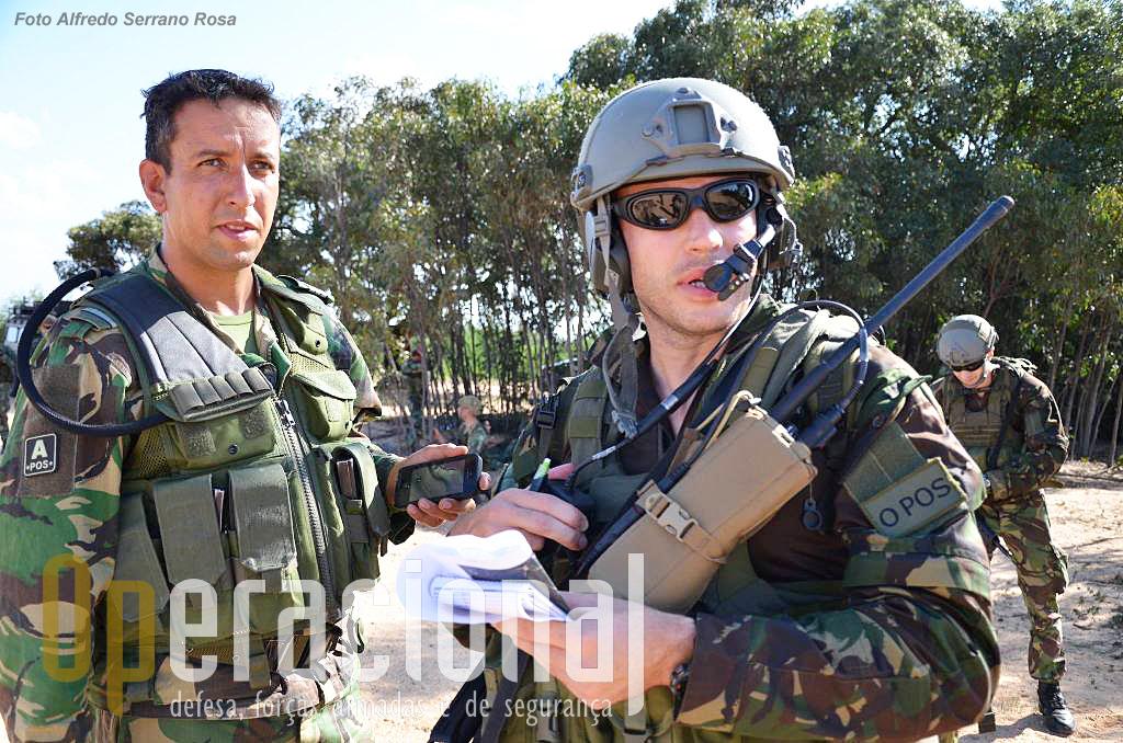 Precursores aeroterrestres do Exército e TACP da Força Aérea.