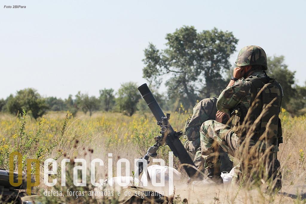 Dependendo do tipo de missão e dadas as limitações de uma força ligeira como os batalhões de pára-quedistas, outras unidades do Exército ou da Marinha poderão, ou não, ter que ser empenhadas numa operação de evacuação.