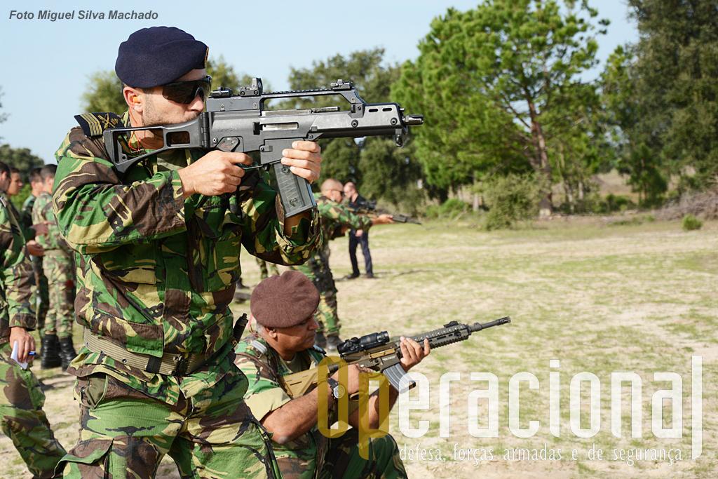 """Sendo já uma """"clássica"""" a G36 C 5,56mm tem sofrido alguns melhoramentos e continua uma arma bem actual."""