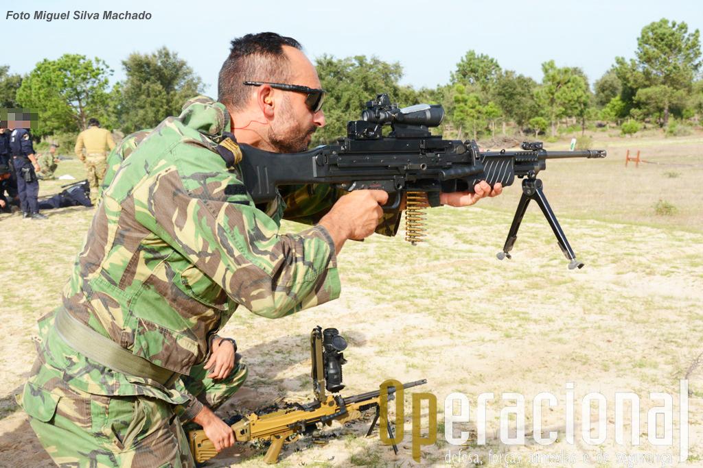 A MG 4 5,56mm já está ao serviço em Portugal, por exemplo na UPF da Força Aérea, na GNR e nos Comandos do Exército