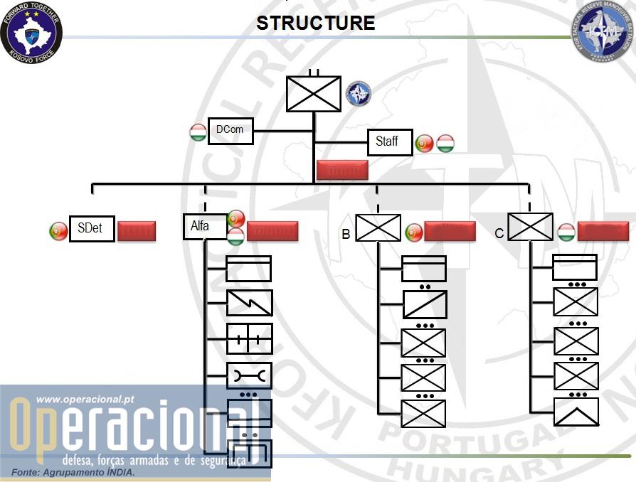 Organização genérica da KTM.