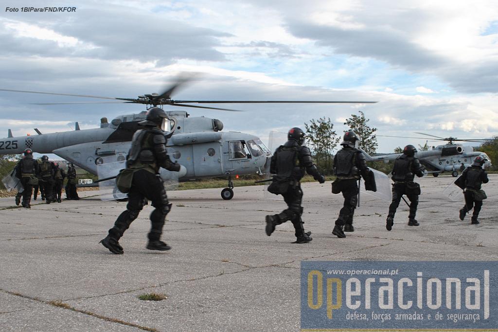 O exercício envolveu meios aéreos da Croácia, EUA, Suíça e Áustria.