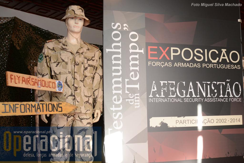 A exposição é essencialmente fotográfica e abrange os 12 anos em que Portugal participou na ISAF.