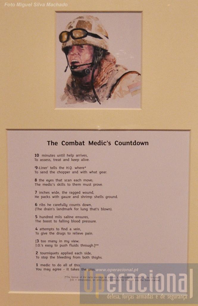 A contagem decrescente da emergência médica em combate (9-liner é no Reino Unido o formato da mensagem que pede evacuação aeromédica)