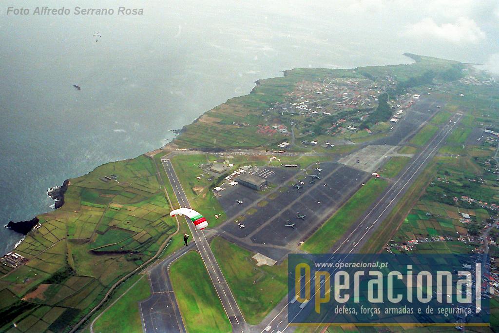 A Base Aérea n.º 4 / Lages Air Base em 1989.
