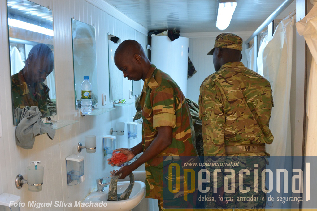 Este tipo de equipamentos é especialmente adaptado para as missões de apoio à paz de longa duração.