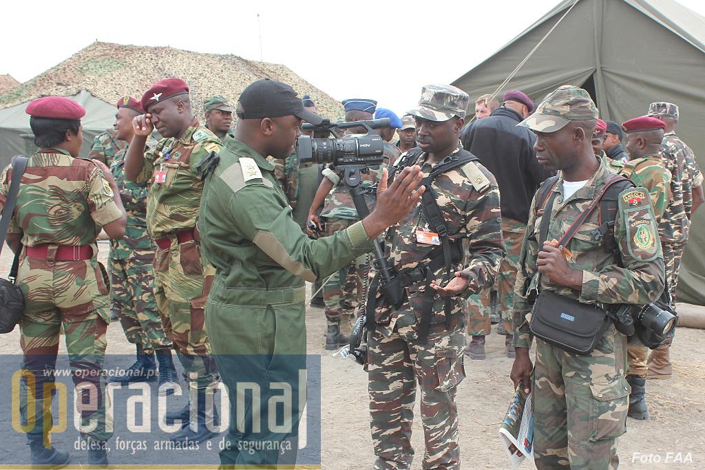 Este exercício teve grande cobertura mediática não só por parte dos órgãos de comunicação social angolana como por praticamente todos os contingentes estrangeiros que se fizeram acompanhar de equipas de reportagem.
