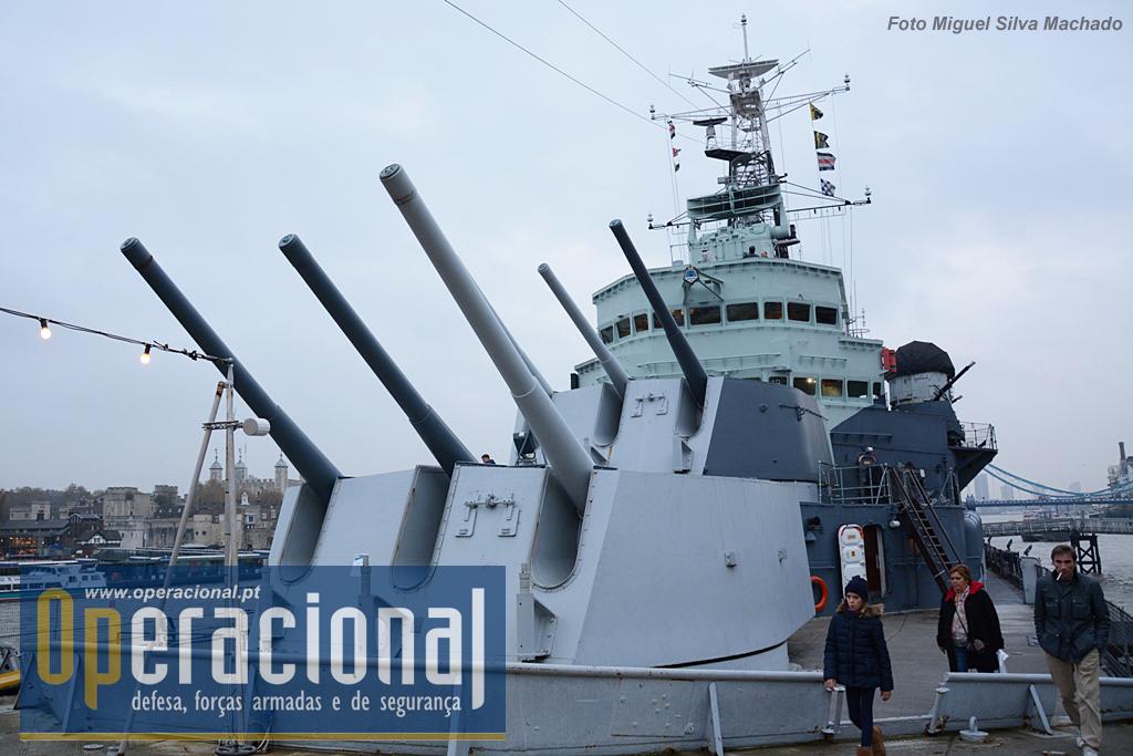 Ancorado no Tamisa desde 1971, o HMS Belfast continua a receber melhoramentos e introdução de novas atracções, várias de base tecnológica, permitindo uma maior aproximação do visitante àquilo que foi a vida a bordo para milhares de marinheiros britânicos e...uma lição de história.