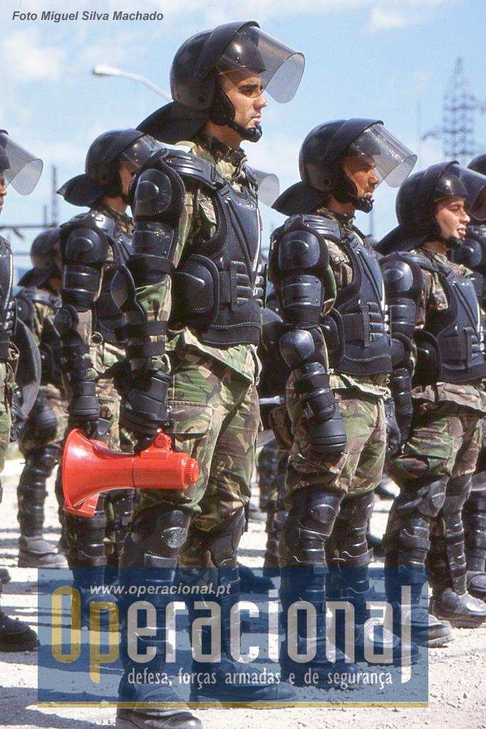 Por esta altura o Controlo de Tumultos ainda era quase uma novidade nas forças portuguesas na Bósnia.