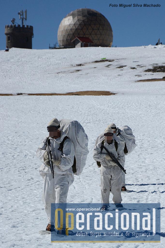 Mesmo com pouca neve no ponto mais alto de Portugal, a realidade é que abstraindo da envolvente, neve é neve e o treino é sempre útil.