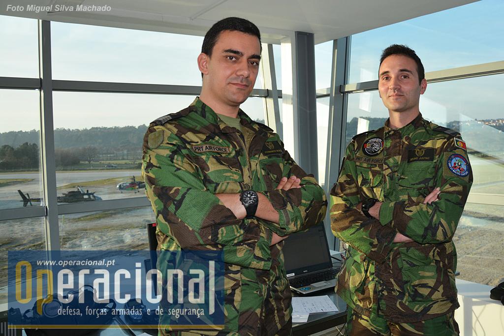...meios e pessoal da Força Aérea, nomeadamente elementos da Unidade de Comando e Controlo Móvel para, entre outras tarefas, assegurar a ligação com o Comando Aéreo.