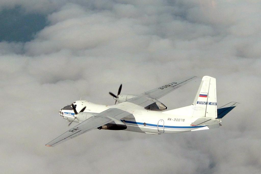 Antonov An-30 B da Federação Russa numa missão anterior no âmbito do tratado Open Skies (Foto OSCE)