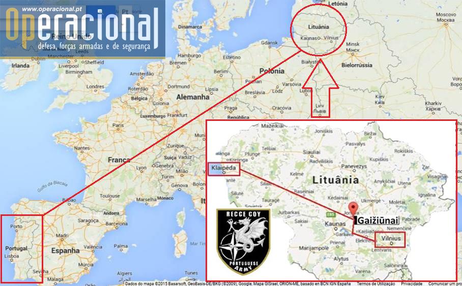 Mapa Europa e Lituânia Final