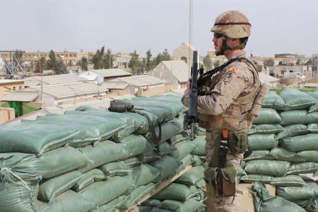 3 Iraque Ministério Defesa Espanha.