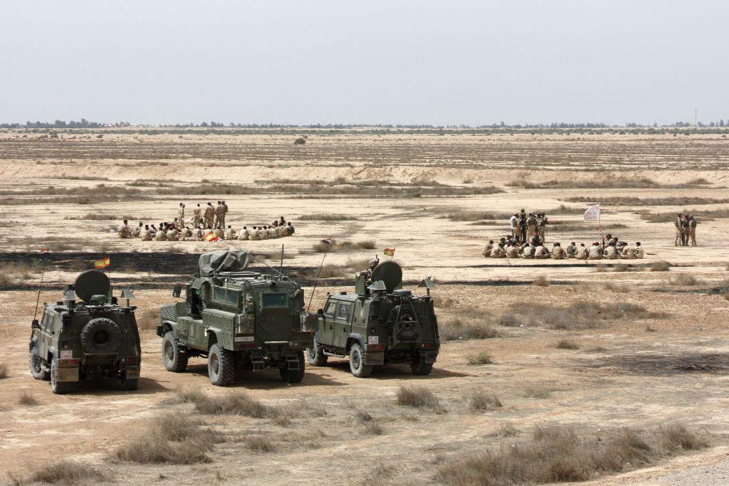 5 Iraque Ministério Defesa Espanha