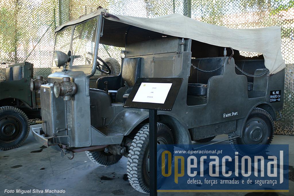"""Um """"OM"""" de fabrico italiano introduzido no Exército Português em 1940."""