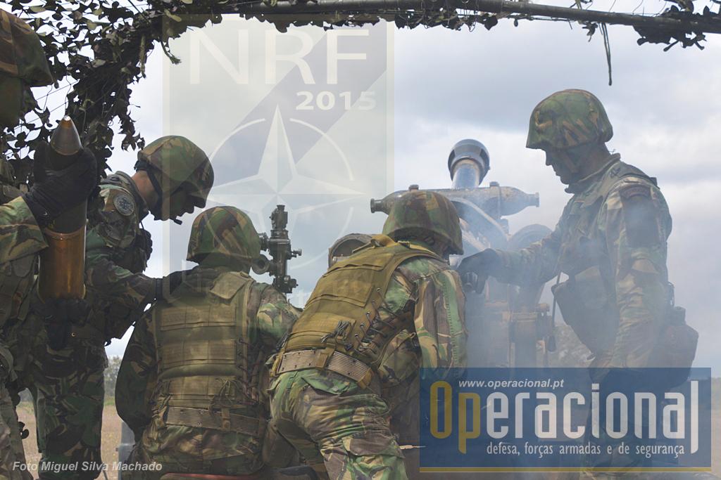 """A lightArt está em fase de """"stand-by"""" disponivel para emprego no âmbito da NATO Response Force."""