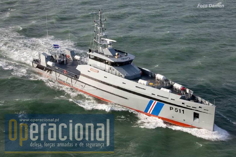 O navio foi construído em estaleiros holandeses e o seu custo foi suportado por Cabo Verde e pela cooperação holandesa.