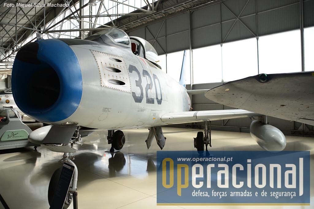 Os North American F-86 Sabre serviram na Força aérea Portuguesa entre 1958 e 1980, tendo, entre 1960 e 1963 feito missões na Guiné Portuguesa.