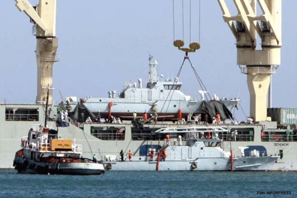A República Popular da China entregou já em 2015 dois navios patrulha novos a Cabo Verde.