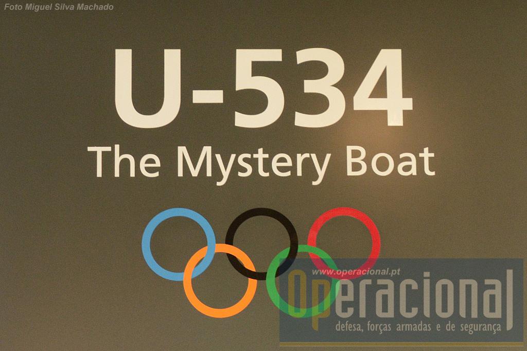 O símbolo identificativo do U-534, os anéis olímpicos. Na realidade 23 U-Boat alemães usavam esta simbologia! Em 1936 os Jogos Olímpicos realizaram-se em Berlim e os oficiais que nesse ano se juntaram à Kriegsmarine, (Marinha de Guerra da Alemanha) adoptavam-no.