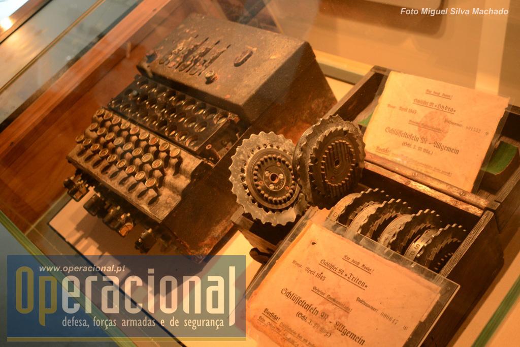 """Este submarino também transportava as célebres """"Enigma"""""""