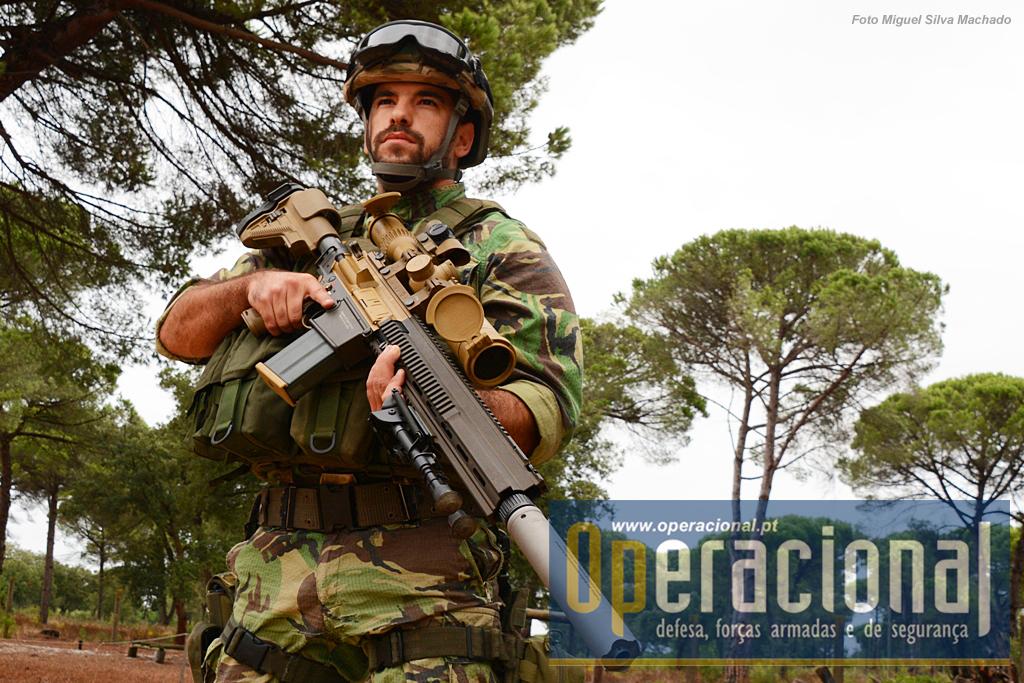 A Unidade de Proteção da Força, tem ao serviço a HK G-28 7,62mm.