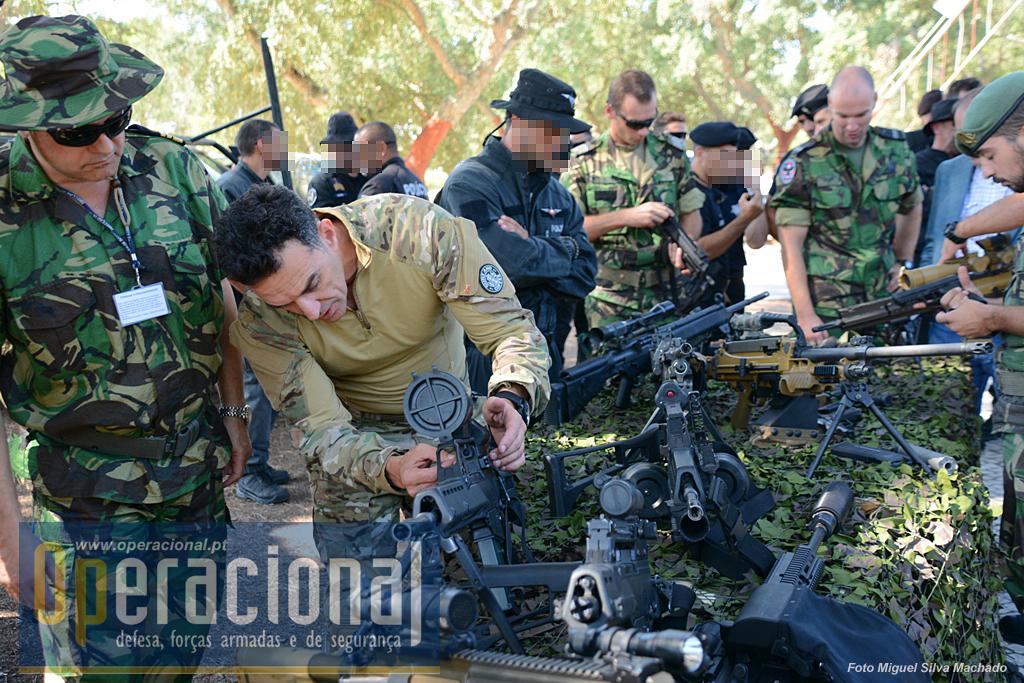 A UPF tem no seu inventário vários tipos de armas, muitas da Heckler & Koch, algumas comuns a várias forças militares e de segurança.