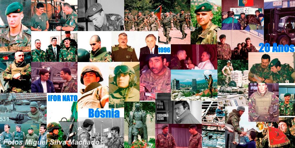 Durante este ano de 2016 muitos são os rostos dos militares portugueses que participaram na IFOR que vão passar pelas páginas do Operacional.