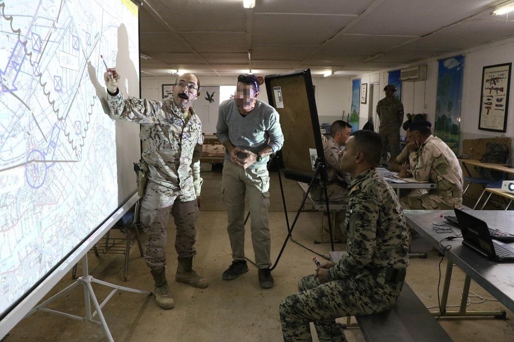 A identidade dos interpretes (e dos militares de operações especiais) é sempre salvaguardada (Foto EMD - Espanha)