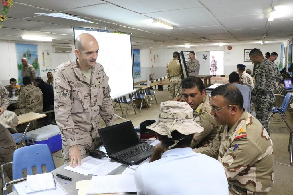 Os oficiais do Estado-maior e dos vários escalões de comando da Brigada 72, que dispõe de 3 batalhões, estiveram neste CPX.