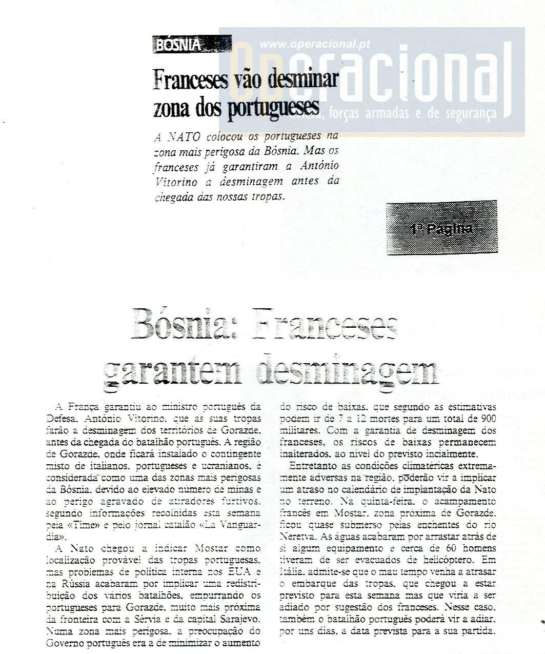 """03DEZ1995 - Jornal """"Semanário"""""""