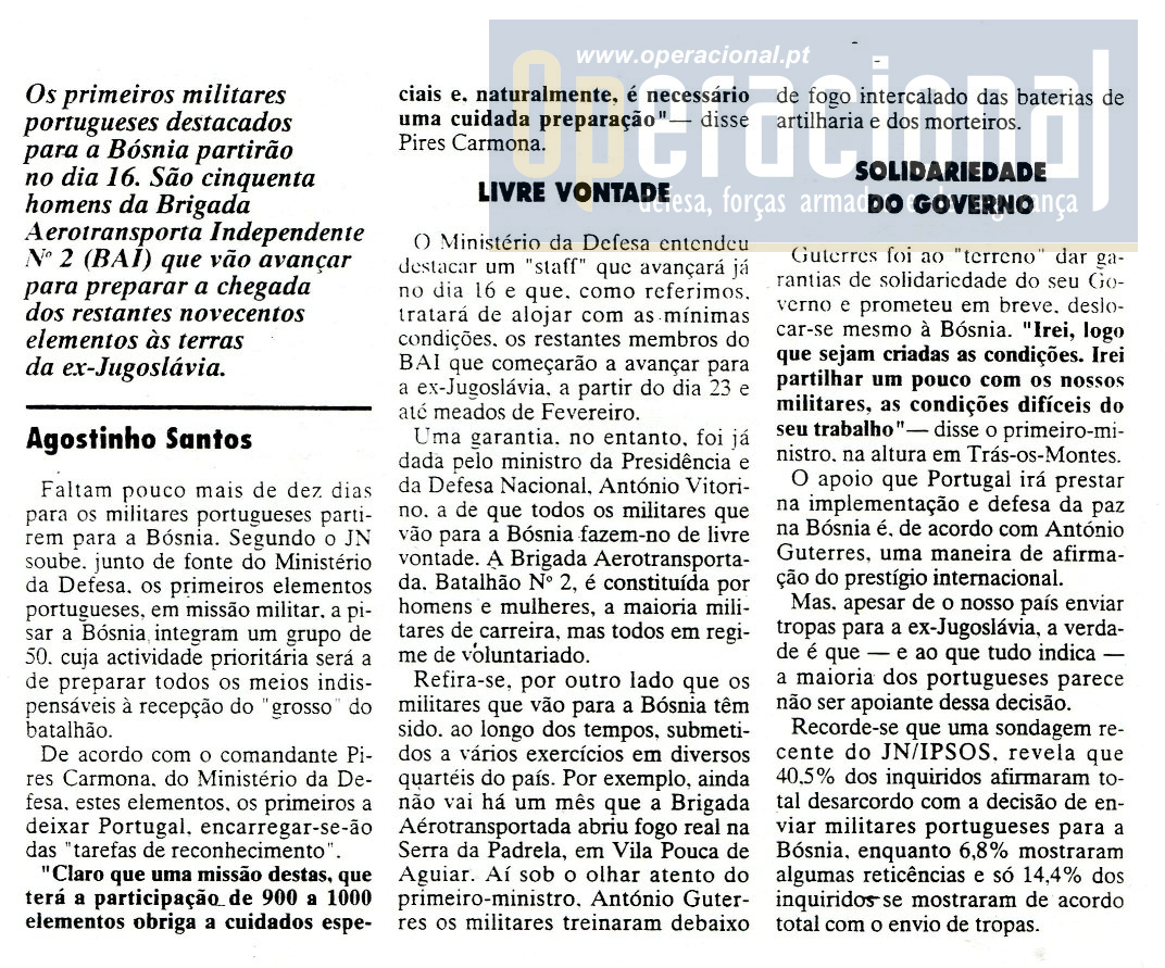"03JAN96, ""Jornal de Noticias"""