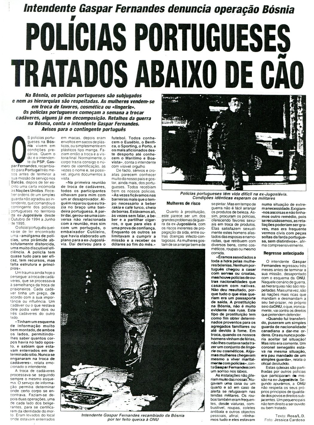 25JAN96 - O Crime