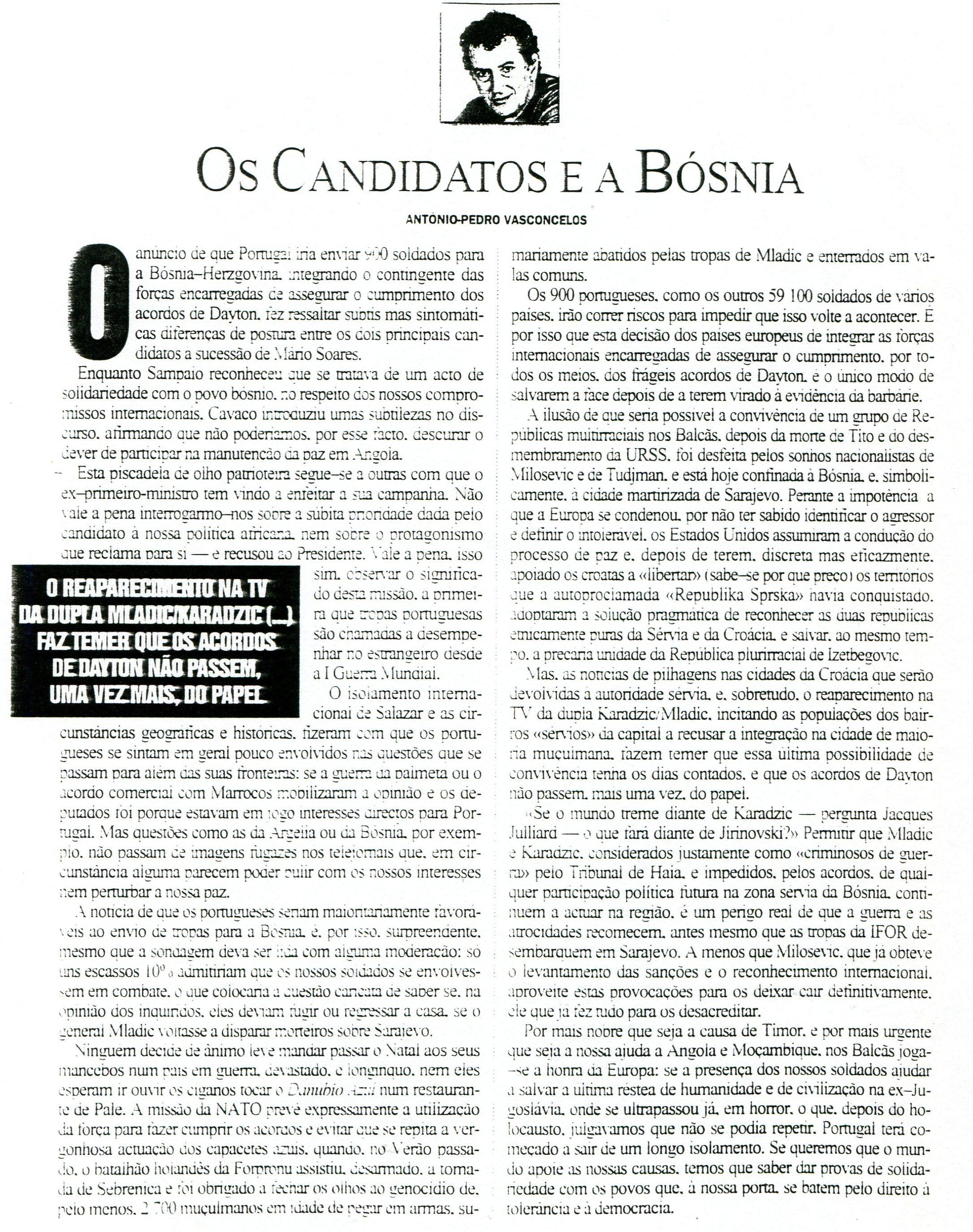 30NOV1995 - Visão