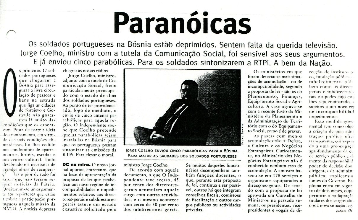 19JAN1996 - O Independente