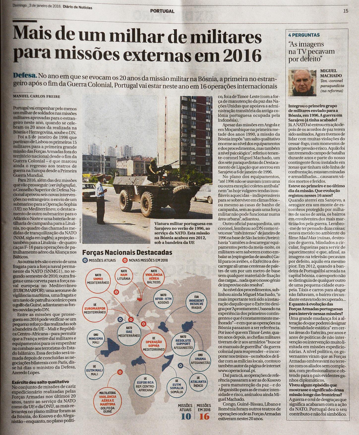 Diário de Noticias: 03JAN2016