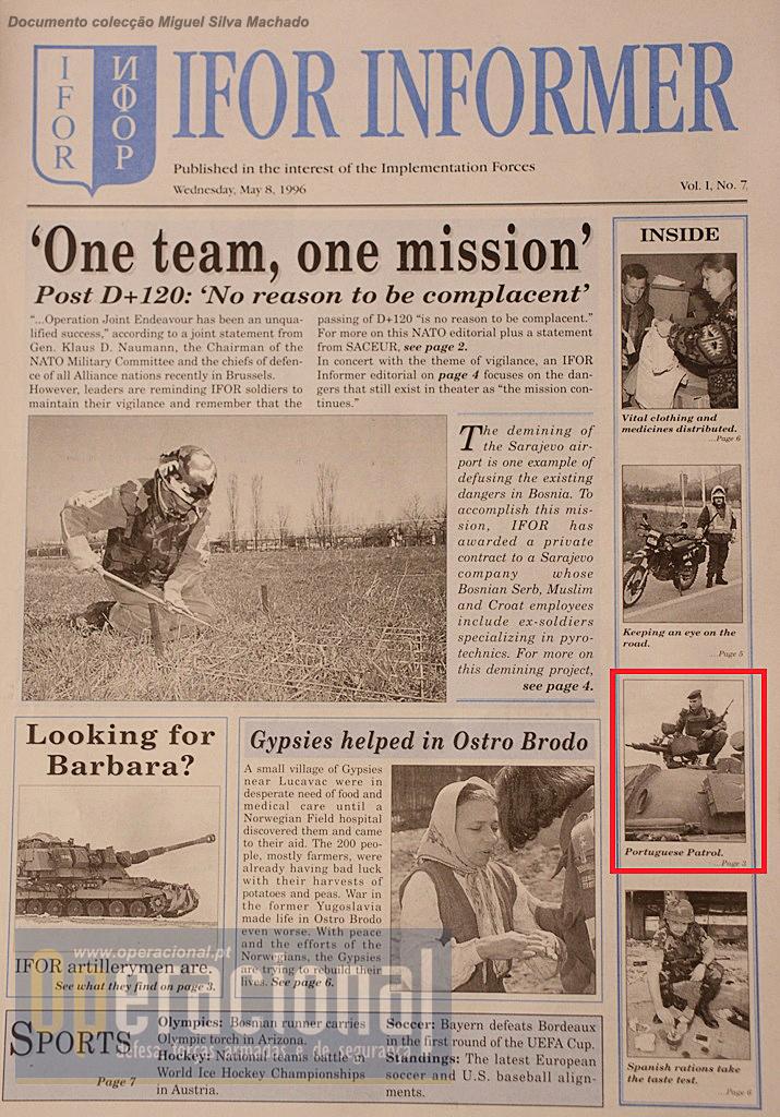 Uma missão do PelRec do 2BIAT em destaque.