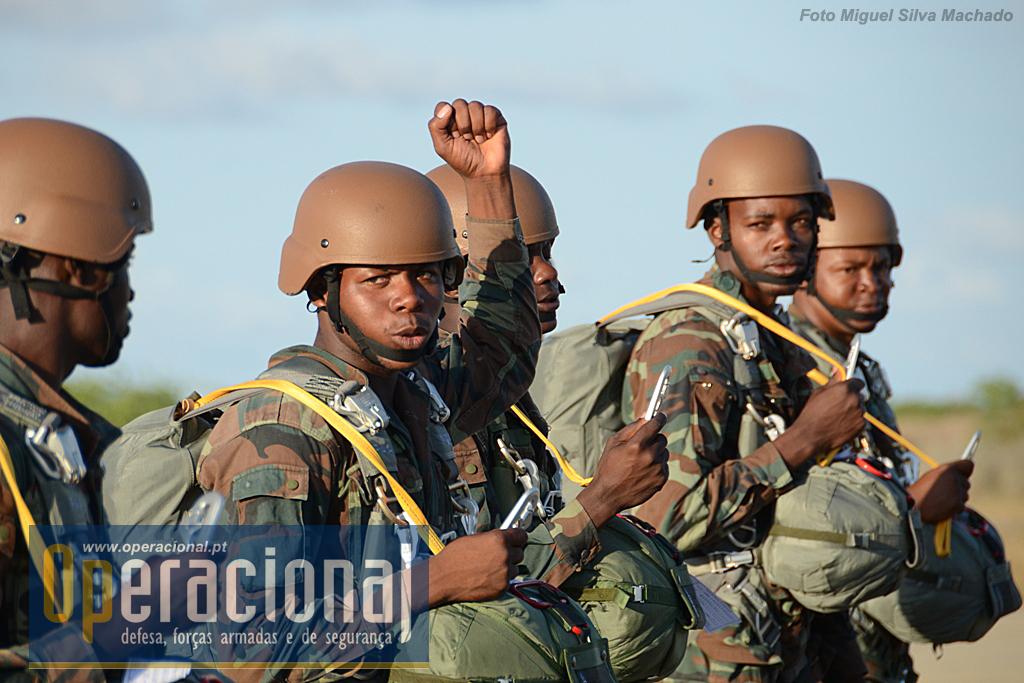 Comandos, operações especiais ou fuzileiros, na Brigada de Forças Especiais, todos podem tentar vir a ser pára-quedistas.
