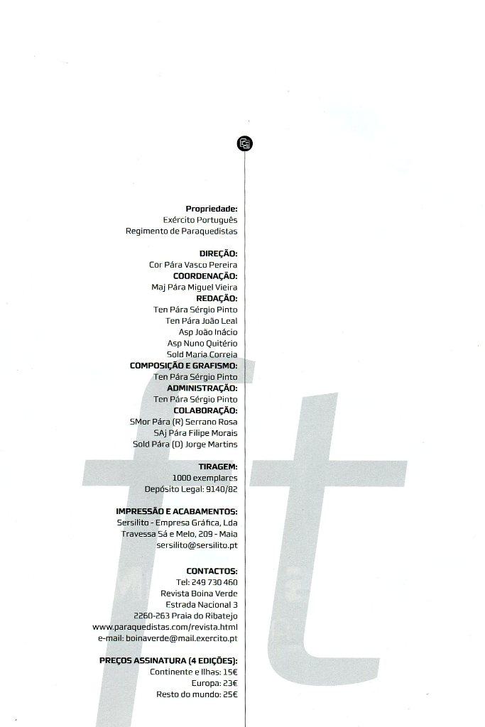 """A ficha técnica desta """"...Edição Comemorativa, dedicada a todos os seus assinantes e àqueles que, ao longo de 50 anos, lhe deram forma e conteúdo...""""."""