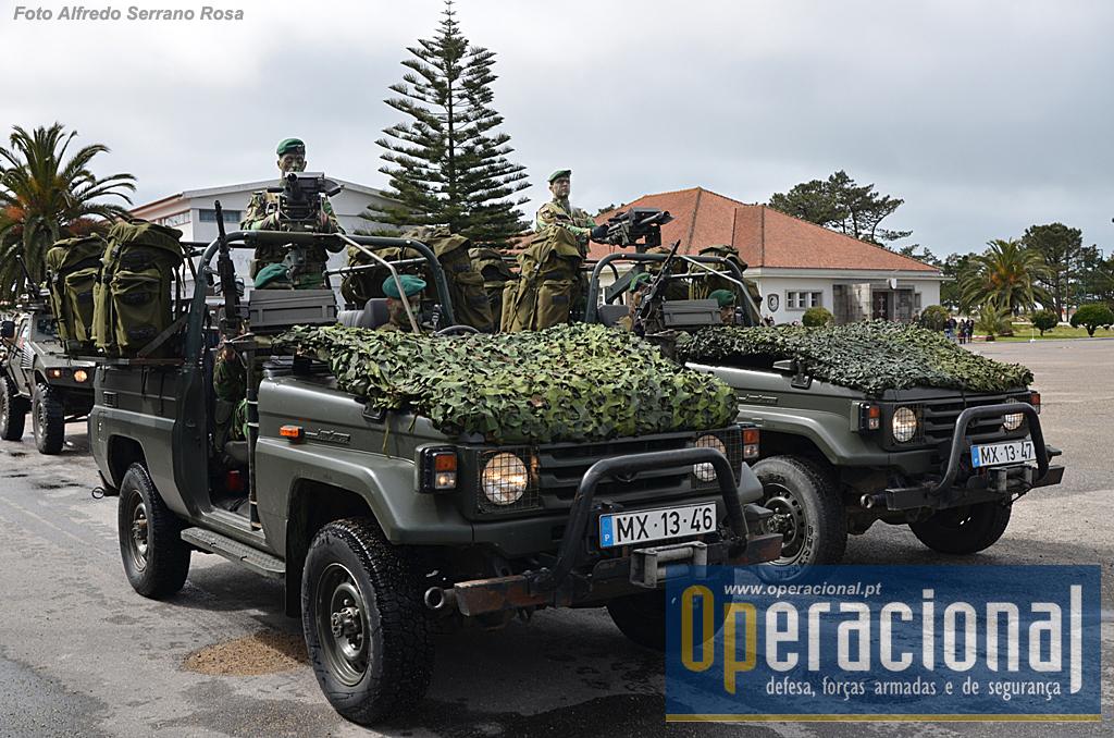 Viaturas tácticas equipadas com LGA Mk 19 de 40mm