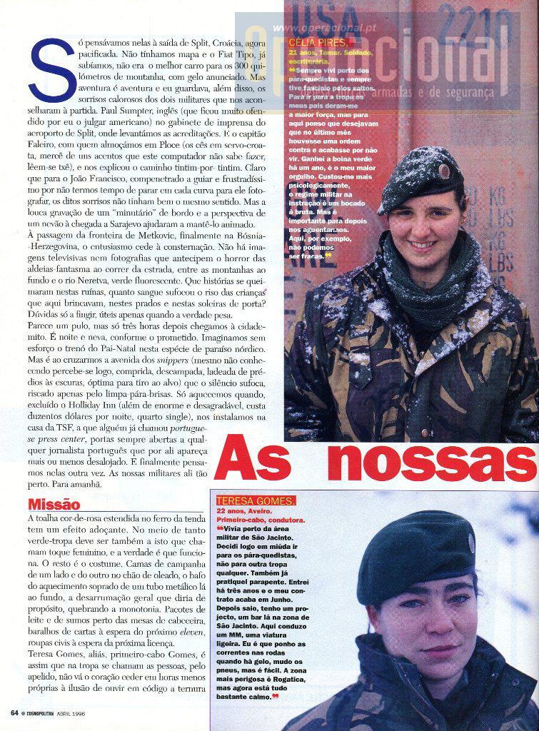Bósnia 96 Mulheres 3